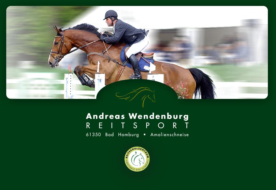 Andreas Wendenburg Reitsport, Amalienschneise, 61350 Bad Homburg, Tel: 0171- 230 61 61